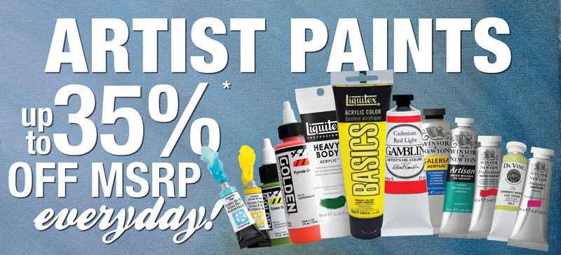 Everyday Discounts on Paints
